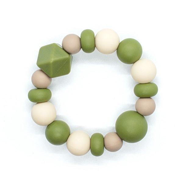 Sage Teething Bracelet