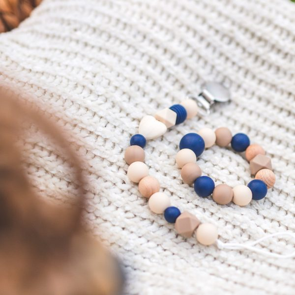 Deep Blue Ocean Teething Bracelet